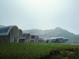 Zaha Hadid Architects'ten Çin Kırsalına Okul Projesi